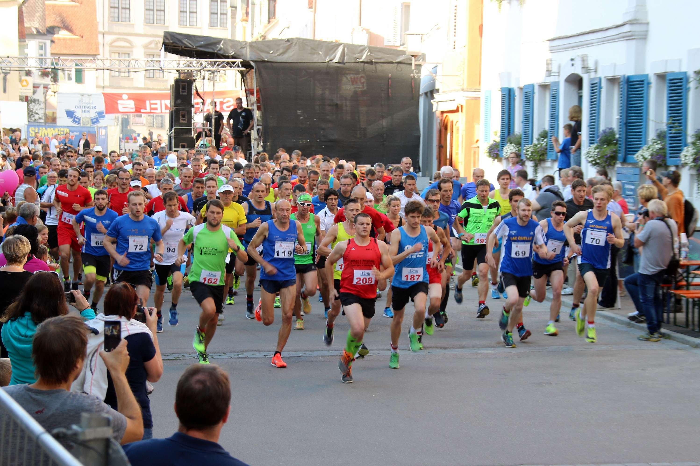 Oettinger Stadtlauf am 11. August 2018